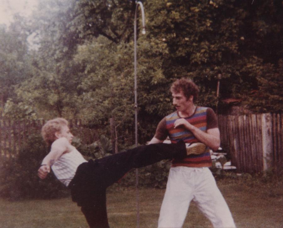 1980 TKD Training U.Stauner A.Hanfstengl