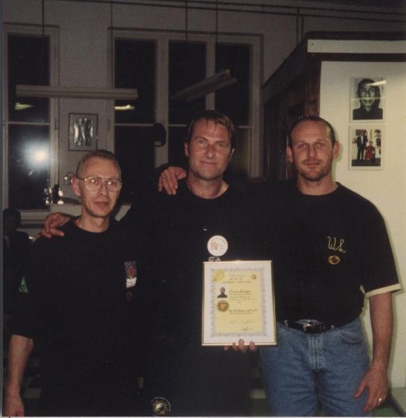 2001 Dachau, Ulrich Stauner, Claus Gregor, Werner Leuschner