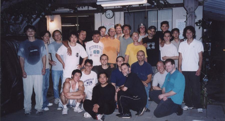 2004 Los Angeles, bei Grandmaster Gary Lam
