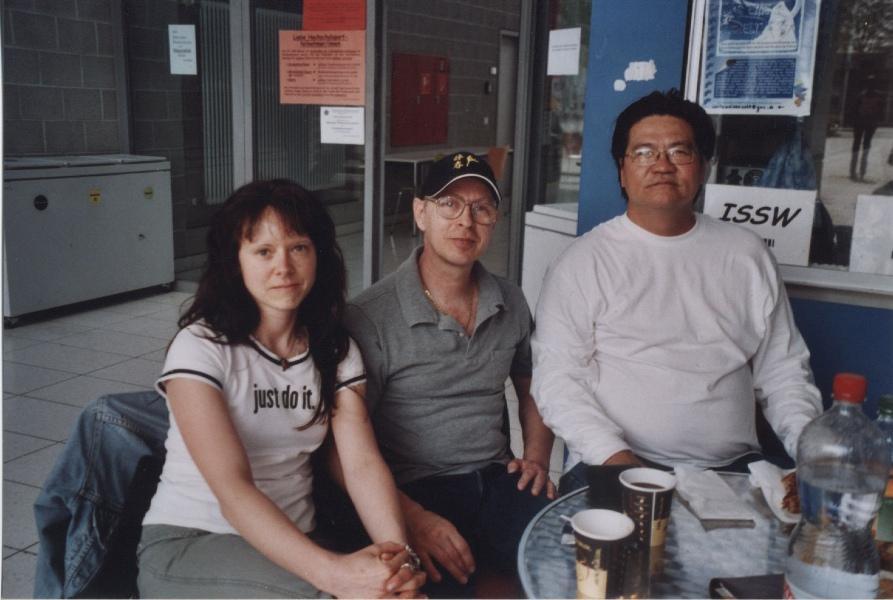 2006 Heidelberg, Monika Froschmaier, Ulrich Stauner, Gary Lam
