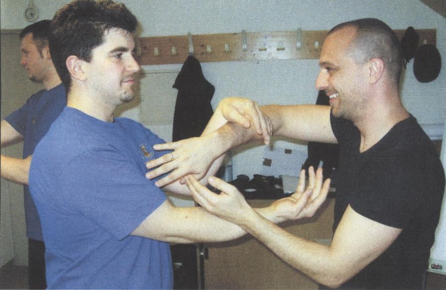 2007 Andreas Thumfart und Schüler