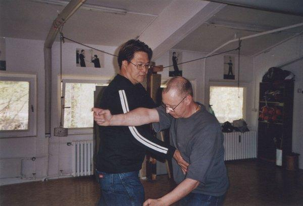 2007 Dachau Po Pai Training, Gary Lam, Ulrich Stauner