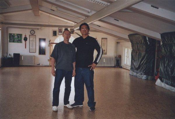 2007 Dachau Ulrich Stauner and his Sifu Gary Lam