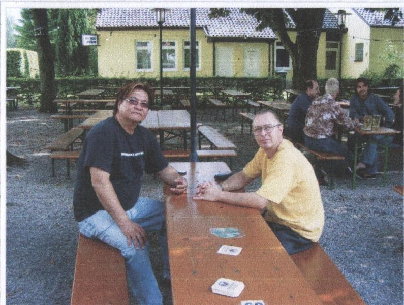 2007 Dachau, Biergartenprivattraining, Gary Lam, Ulrich Stauner