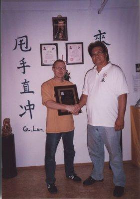 2008 Dachau Sifu Stauner - der erste von Gary Lam zertifizierte Level three in Europa