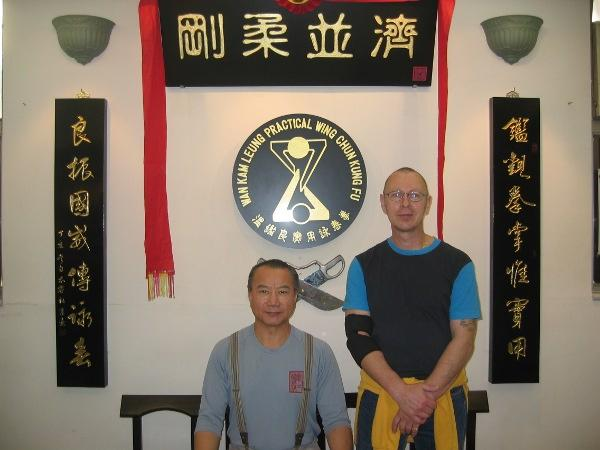 2009 Hongkong Sifu Stauner, Master Wan Kam Leung