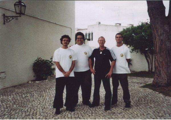 2010 Algarve Portugal Antonio, Ricardo, Sifu Uli, Carlos