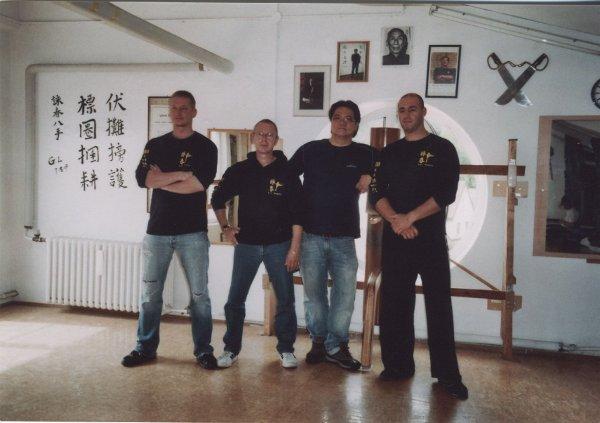 2010 Dachau Kemal, Uli, Sifu Gary, Evangelos