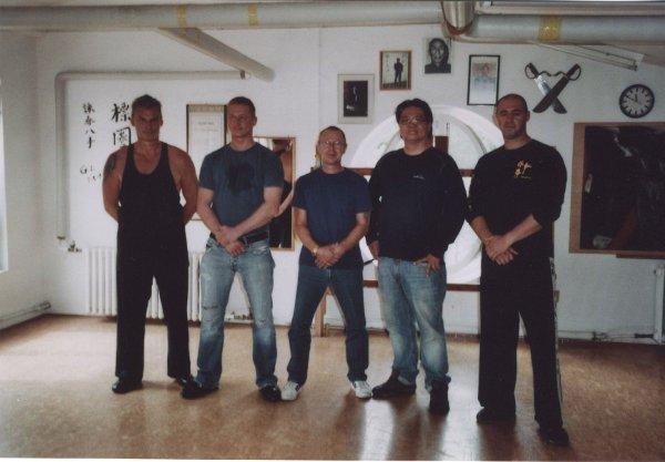2010 Dachau Kurt, Kemal, Uli, Sifu Gary, Evangelos
