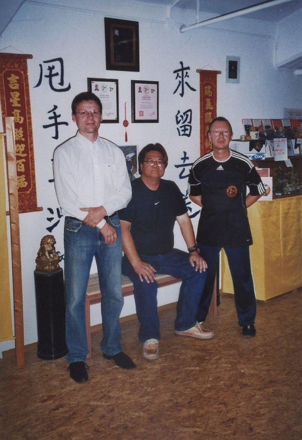 2011 Dachau Sifu J.Harlander, Master Gary Lam, Sifu Uli Stauner