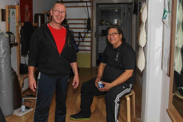 2013 Dachau Sifu Ulrich Stauner and Master Gary Lam