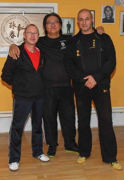 2013 Dachau Ulrich Stauner, Gary Lam, Evangelos Vasilakis